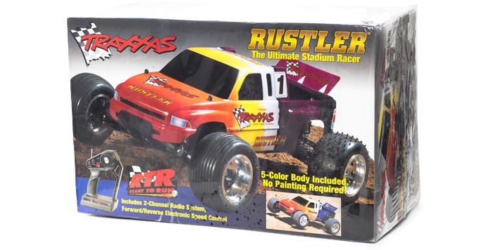 Traxxas #3706 - Rustler - opakowanie